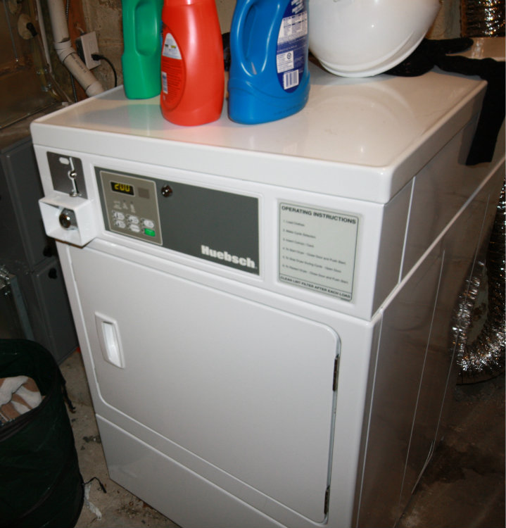 Laundry - Basement coin dryer