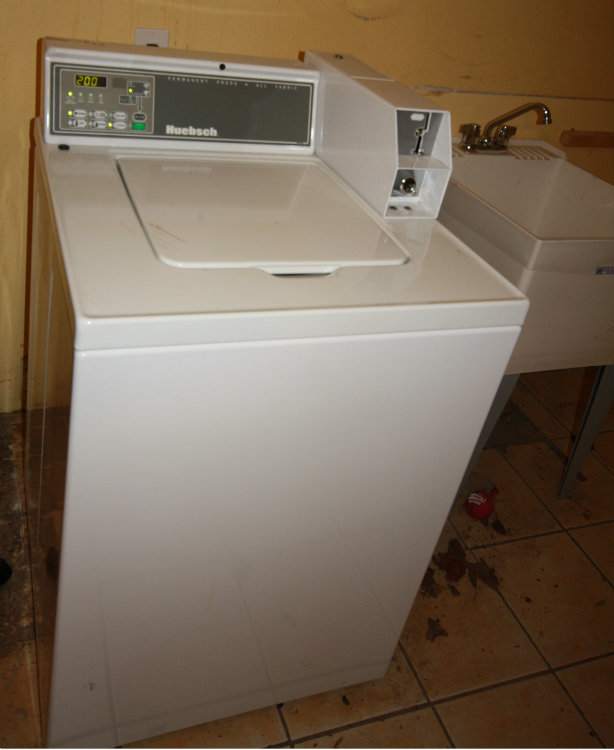 Laundry - Basement coin washer