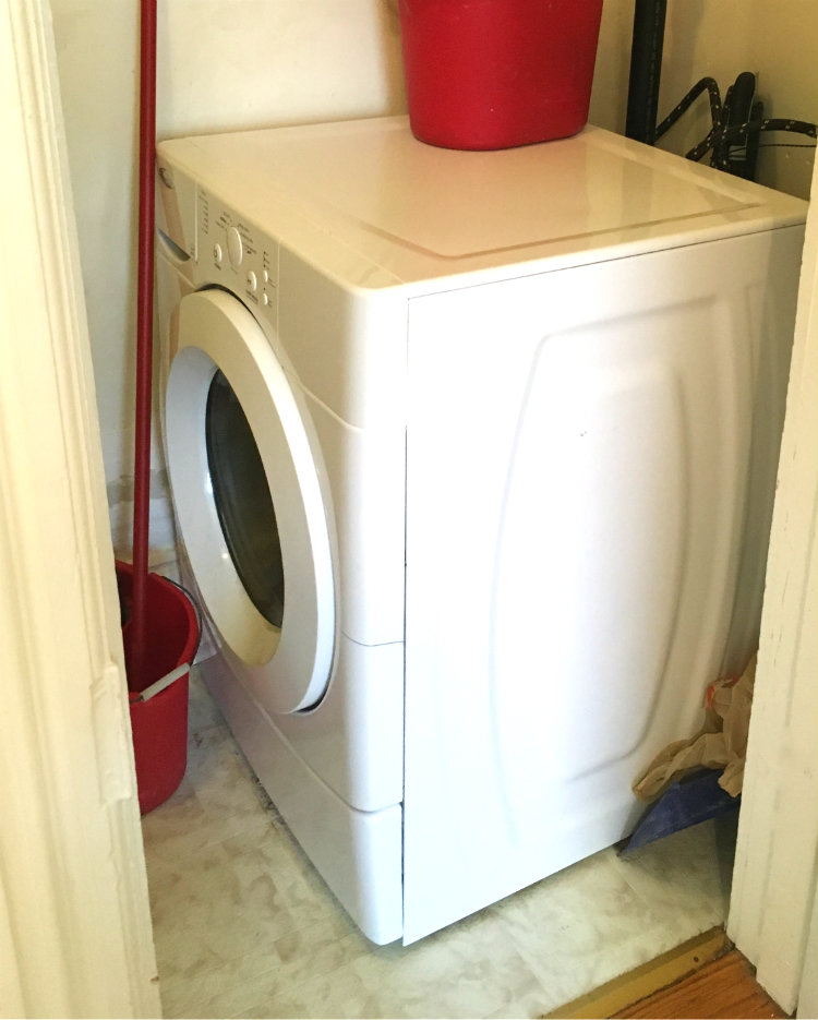 Washing Machine on main floor